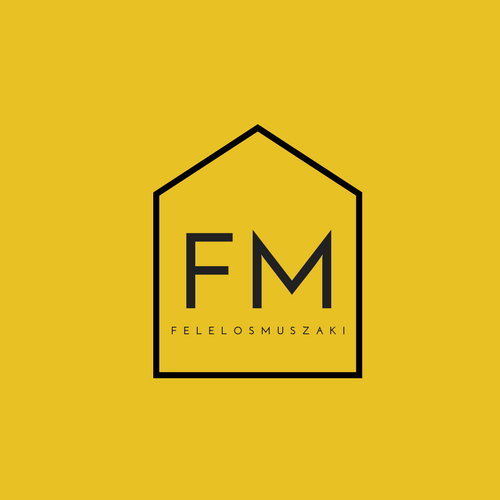 Yellow and Black House Home Furnishing Logo